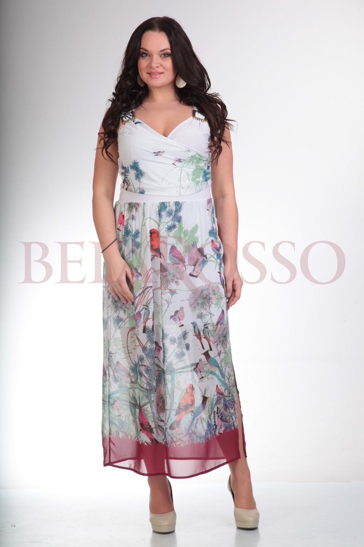 Платье Liona-style 435 принт птички