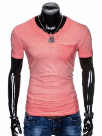 Футболка Ombre OMBRE T-SHIRT S674 - CORAL
