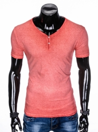 Футболка Ombre OMBRE T-SHIRT S894 - CORAL