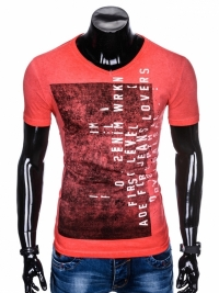 Футболка Ombre OMBRE T-SHIRT S891 - RED