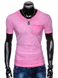 Футболка Ombre OMBRE T-SHIRT S674 - PINK