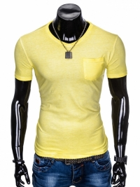 Футболка Ombre OMBRE T-SHIRT S674 - YELLOW