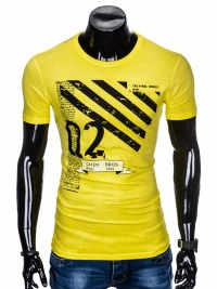 Футболка Ombre OMBRE T-SHIRT S896 - YELLOW