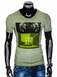 Футболка Ombre OMBRE T-SHIRT S889 - GREEN