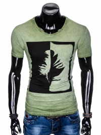 Футболка Ombre OMBRE T-SHIRT S895 - OLIVE