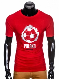 Футболка Ombre OMBRE T-SHIRT S965 - RED