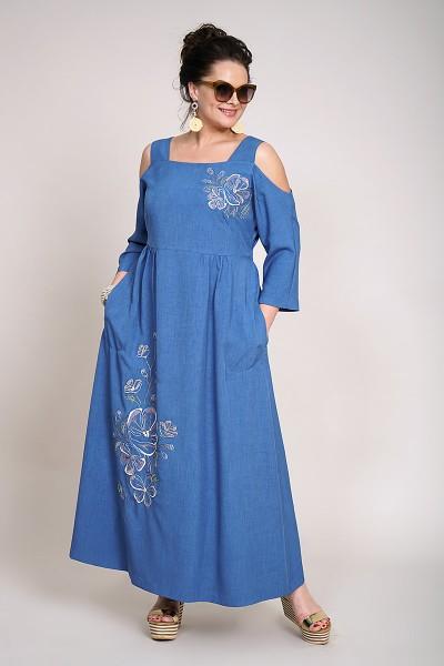 Платье ALANI 937-Р синий