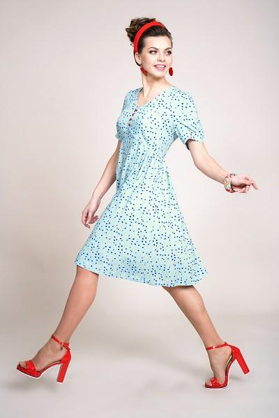 Платье ALANI 934-Р голубой