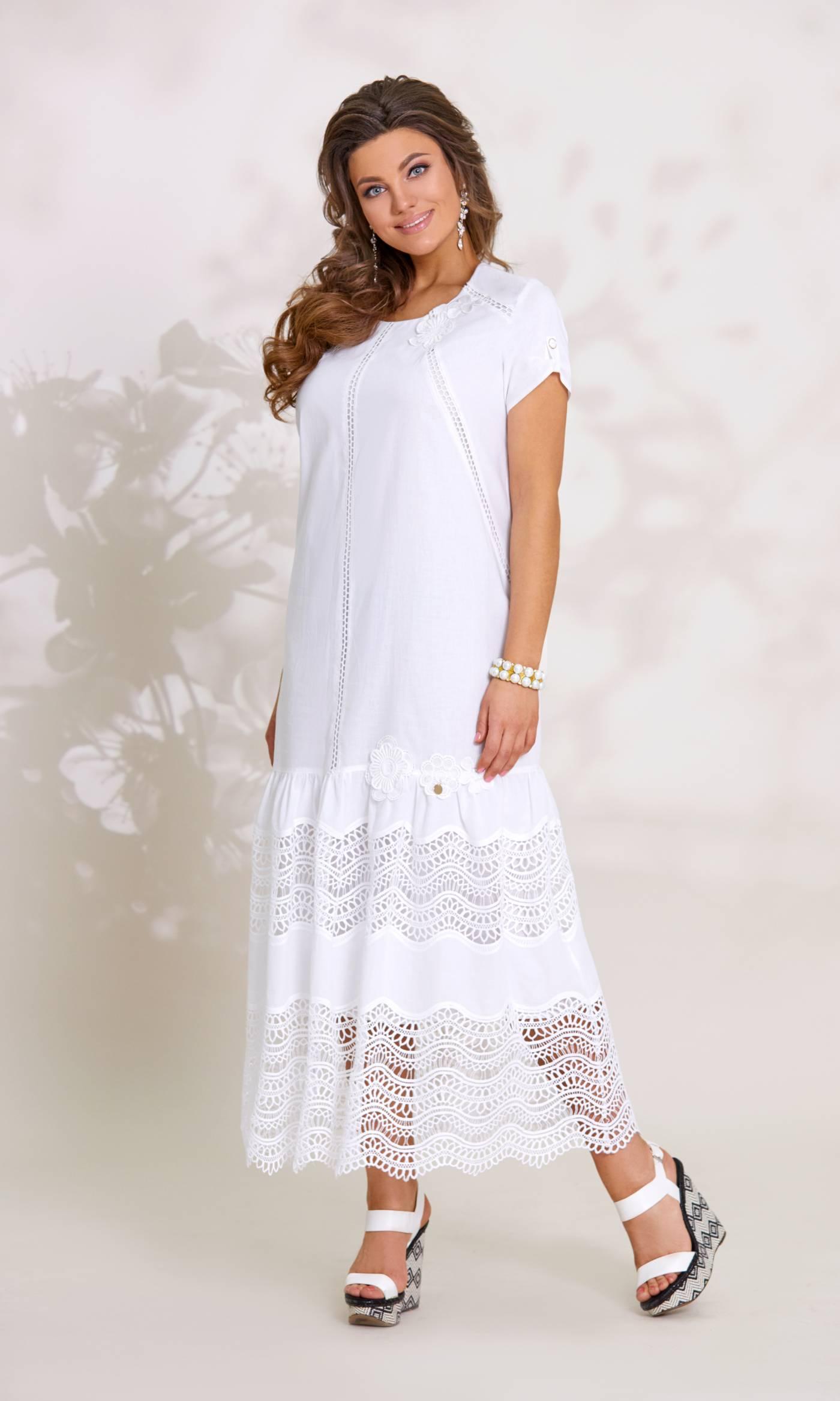 Платье Vittoria Queen 7913-Р белый