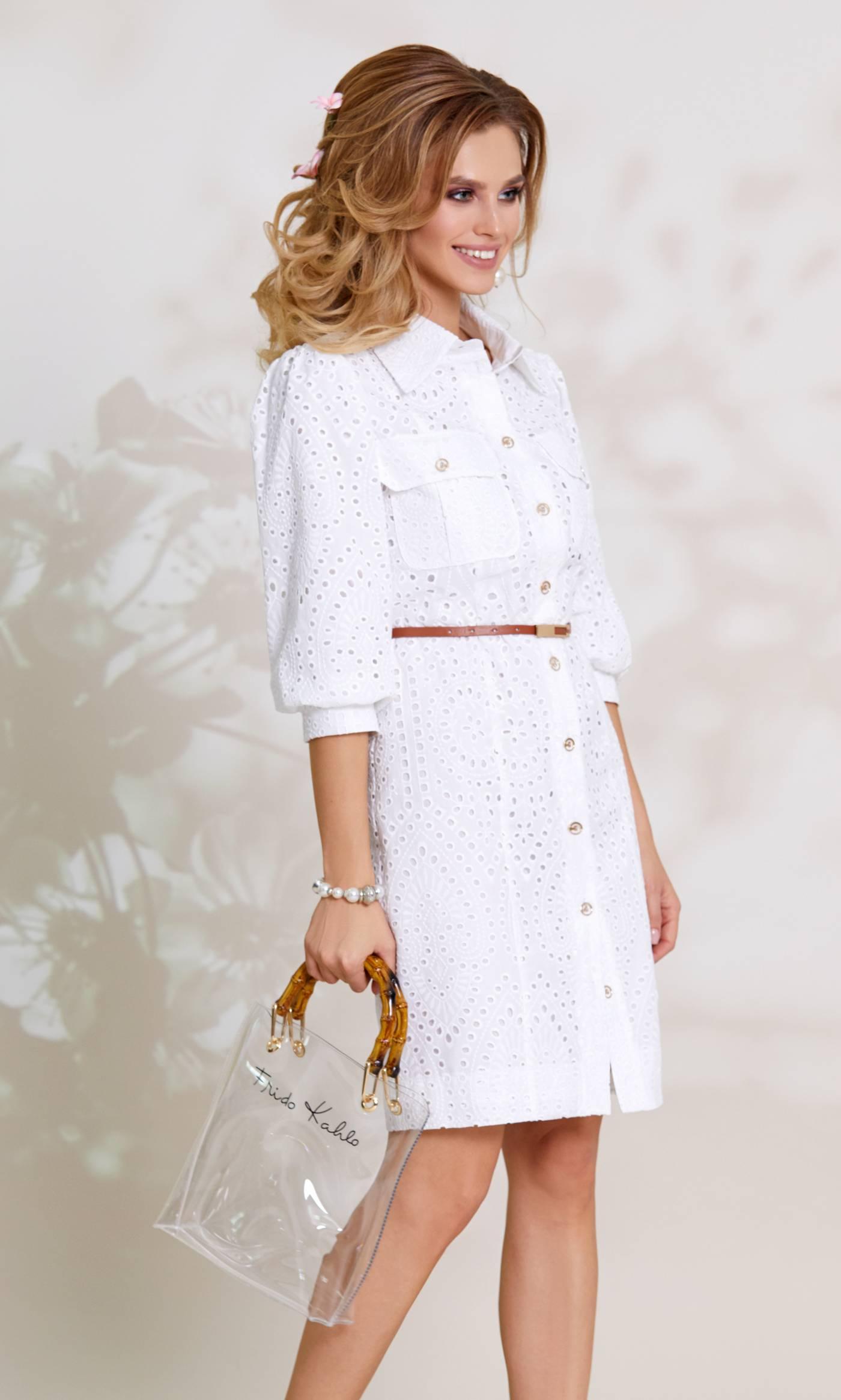 Платье Vittoria Queen 8143-Р белый